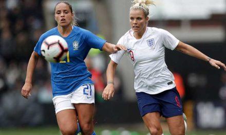 Prépa Angleterre (1-0) Brésil. L'Angleterre s'imagine les prochaines Reines du Football féminin ?