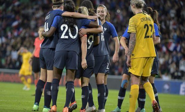 Préparation Mondial 2019 – Une Australie faible, se fait manger dans le chaudron (2-0) par les Bleues.
