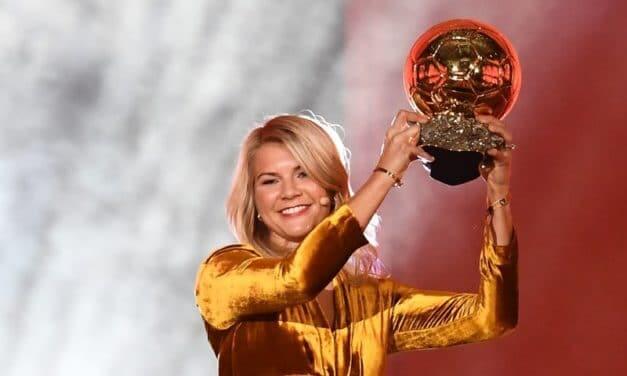Ballon d'Or – Ada Hegerberg, Ballon d'Or féminin 2018