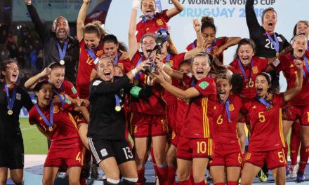 Mondial 2019 – L'Espagne, un pays qui monte «quatre à quatre» les marches du succès. Les jeunes espagnoles U17 sont championnes du monde 2018